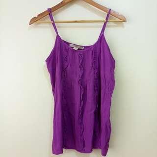 Purple Forever 21 Blouse