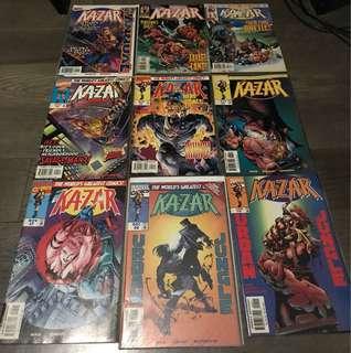 Marvel Ka-zar - Annual 97, Issue #2-10,12,14-15,17-20