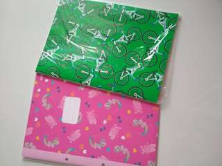 BNIP Smiggle A4 lined notebooks