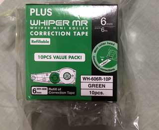 PLUS WHIPER MR correction tape