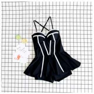 Sexy slimming swimwear (Black-2XL)