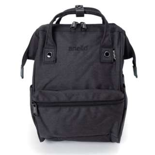 AT-B2264 [Anello] Black Mini Heat Tight Rucksack . 100% GENUINE !