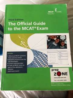 Mcat official guide 3rd edition