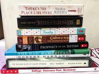 Preloved books for SALE!!!!