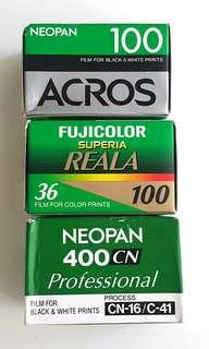 Expired 135 Film Fujifilm (RARE)