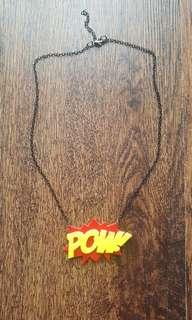 Retro Cartoon Necklace
