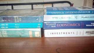 Accounting Economics Investing books + Literature books