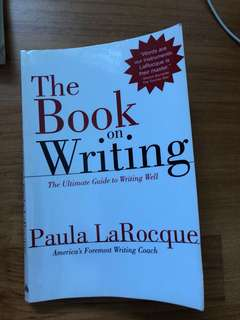 CHEAP The book on writing