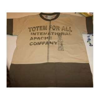 Union Boys Beige T-shirt