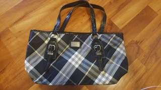 Authentic Blue Label Burberry Tote