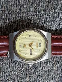 Rare VINTAGE CITIZEN AUTOMATIC 6651 JAPAN DAY/DATE WATCH (Pre-owned)