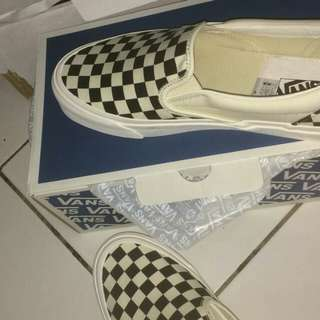 Vans Checkerboard Vault OG Slip On