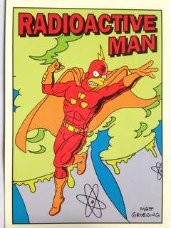 1993 Skybox Simpsons Series 1 Base Card #R3 (Radioactive Man 3)