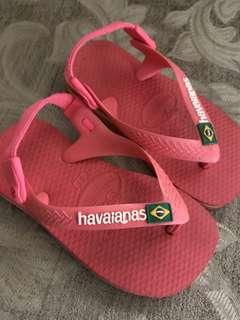 Baby Havaianas size 21 ( 12-24mos)