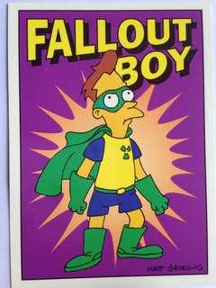 1993 Skybox Simpsons Series 1 Base Card #R1 (Radioactive Man 1)