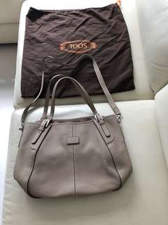 Used once almost brand new Tod's leather bag