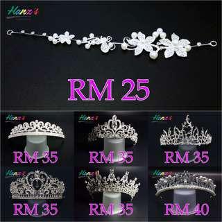 Crown Headpiece Wedding Pengantin