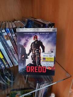 Dredd 3D Blu-Ray - Region A