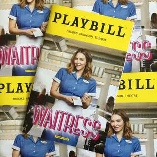 WAITRESS Playbill with Katherine McPhee