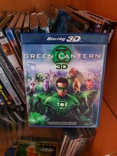 Green Lantern 3D Blu-ray - Region A