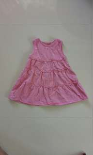 Heart Floral Pink Dress