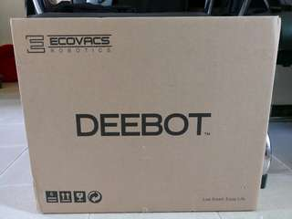Brand new 全新 Ecovacs DEEBOT OZMO 600 智能地面清潔機器人