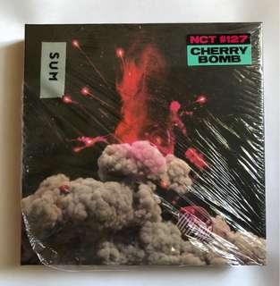 NCT 127 Cherry Bomb Album (Unsealed w/o Photocard