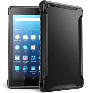 "New SUPCASE Unicorn Beetle Amazon Fire HD 8.0"" Case - Black"