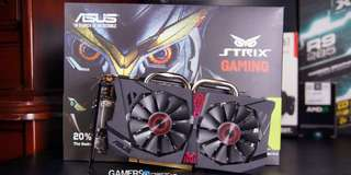 Asus Strix NVIDIA gtx 950 2GB Ddr5 for PUBG, ROS, fortnite