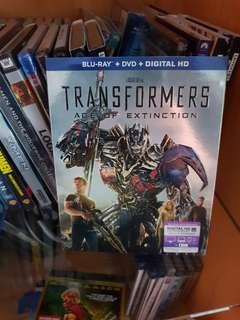 Transfomers Age of Extinction Blu-ray - Region A