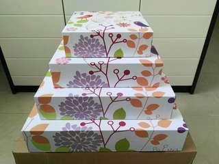 [New] Gift Box 、Storage Box one set禮物硬紙盒、收納盒(一套)