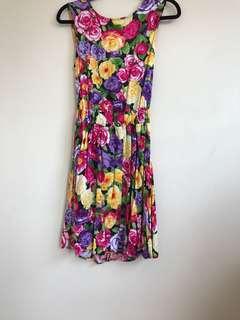 Floral American Apparel dress