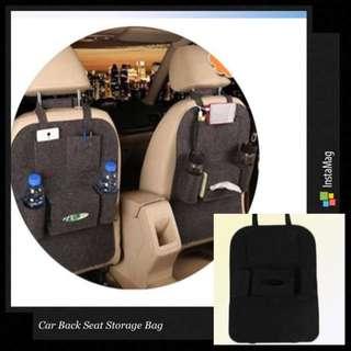 Car Back Seat Storage Bag