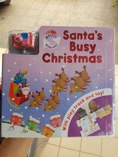 SANTA BUSY CHRISTMAS