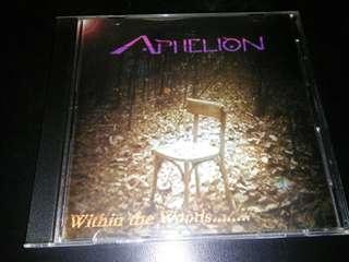 APHELION SINGAPORE PROG ROCK METAL CD RARE 1999