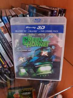 Green Hornet 3D Blu-ray - Region A