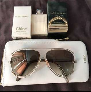 Branded sunglasses (Chloe)