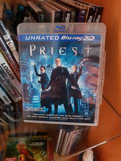 Priest 3D Blu-ray - Region A