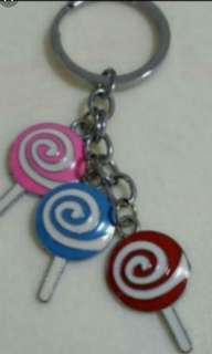 Brand New Lollipop Key Chain