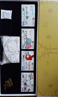 Cinnamoroll, little twin stars, my melody n kitty daniel gift card