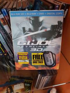 G.I. Joe Retaliation 3D Blu-ray - Region A