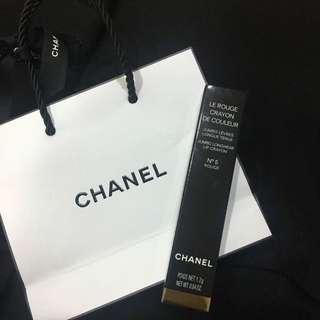 🚚 Chanel 唇膏蠟筆 #5