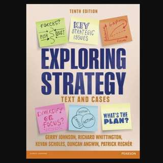Exploring Strategy (Text Only), plus MyStrategyLab with Pearson eText - BK2007