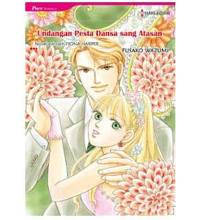 Ebook Undangan Pesta Dansa sang Atasan (Invitation to the Boss's Ball) - Fusako Wazumi