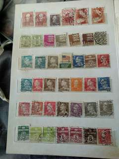 Old stamps from many country