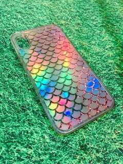 iPhone X Casing (Pink Glitter)