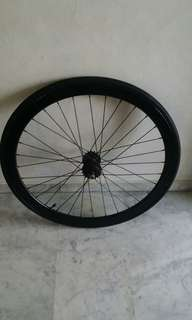 Fixie rear wheel 17t