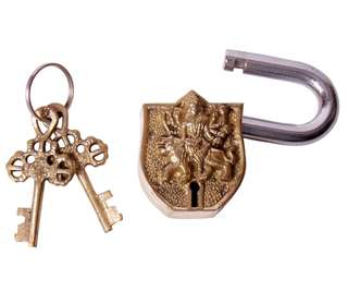 Brass God keyed padlocks