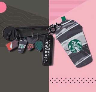 Starbucks Keychains