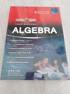 Mavis Algebra lower secondary